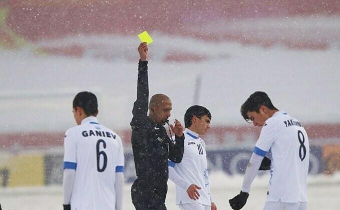 Trọng tài Al-Kaf gắn với kỷ niệm Thường Châu của U23 Việt Nam.