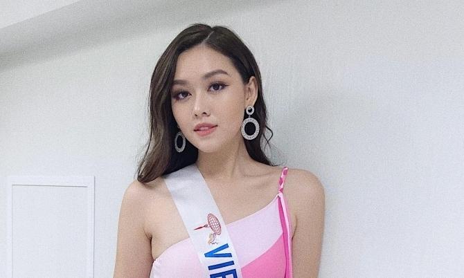 Á hậu Tường San bị chê đẹp kiểu hot girl