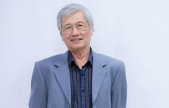 Nhạc sĩ Hoàng Nhạc Đô - con trai của nhạc sĩ Hoàng Trọng.