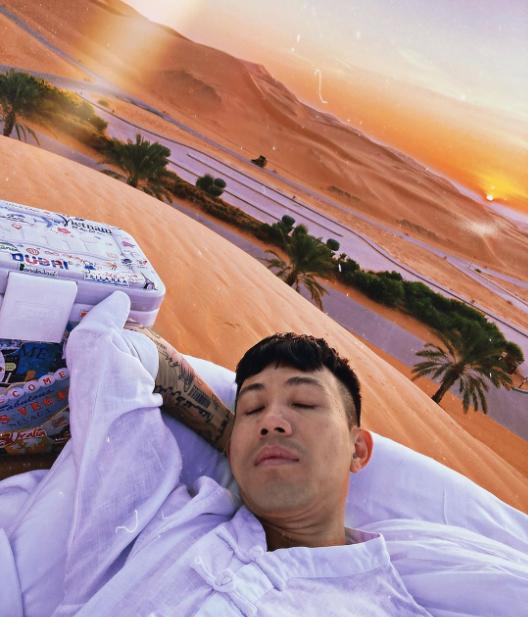 Khách sạn giữa sa mạc trong chuyến đi Dubai của nhà Minh Nhựa - 6