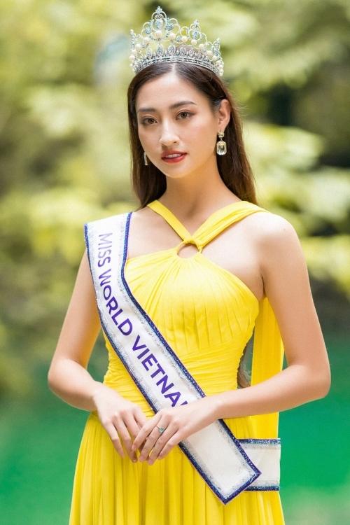 Hoa hậu Thế giới Việt Nam 2019 Lương Thùy Linh.