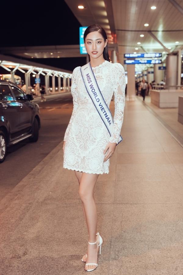 Lương Thuỳ Linh là Hoa hậu Thế giới Việt Nam 2019, quê Cao Bằng, cao 1,78m. Vì trục trặc visa, cô đi trễ so với lịch trình khoảng 5 ngày, bỏ lỡ bốc thăm phần Thuyết trình đối đầu và vòng casting Top Model. Nhiều fan lo lắng điều này ảnh hường tâm lý và kết quả chung cuộc của Thuỳ Linh nhưng người đẹp bày tỏ quyết tâm thể hiện tốt nhất tại cuộc thi.