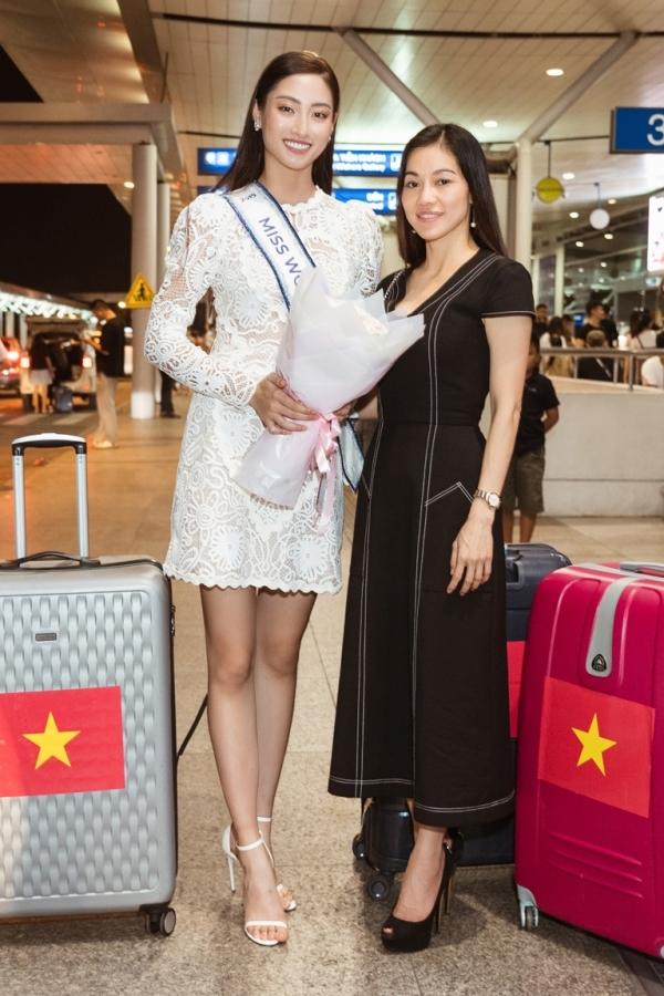 Bà Phạm Kim Dung - trường ban tổ chức Hoa hậu Thế giới Việt Nam - mong Thuỳ Linh giữ sức khoẻ và tinh thần chiến đấu hết mình.