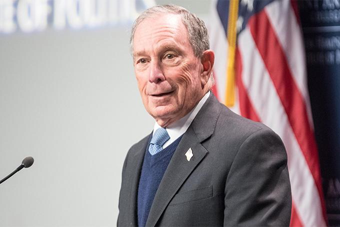 Tỷ phú truyền thôngMichael Bloomberg. Ảnh: NYP.