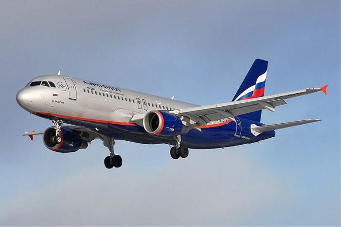 Một chiếc máy bay chở khách của hãng Aeroflot, Nga. Ảnh: Wiki.