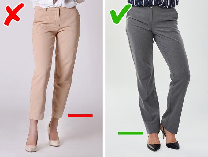 9 bí quyết mặc đồ giúp kéo dài đôi chân - 2