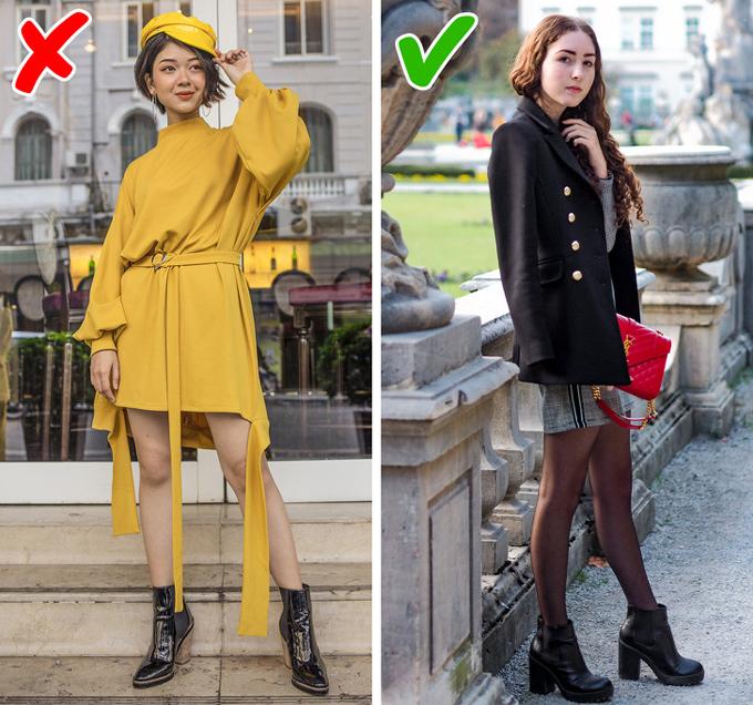 9 bí quyết mặc đồ giúp kéo dài đôi chân - 4