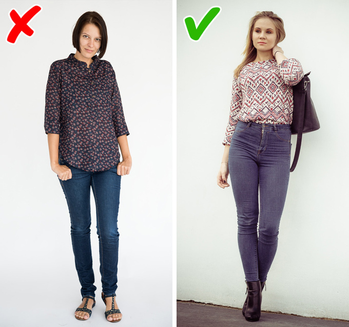 9 bí quyết mặc đồ giúp kéo dài đôi chân - 7