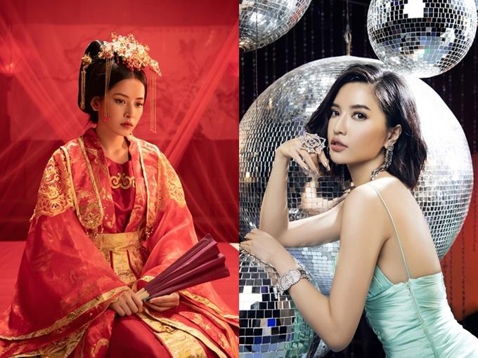 MV Anh ơi ở lại của Chi Pu (trái) và Đi đu đưa đi của Bích Phương (phải) đều có tên trong đề cử.