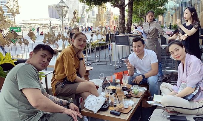 Cường Đô La Đàm Thu Trang đi Bangkok - 2