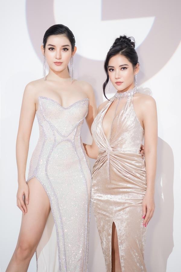 Huyền My đọ dáng hotgirl Milan Phạm.