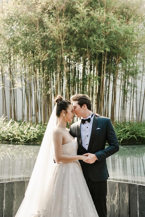 Hiện bố mẹ chồng của Hoàng Oanh có mặt tại Việt Nam chuẩn bị cho hôn lễ.