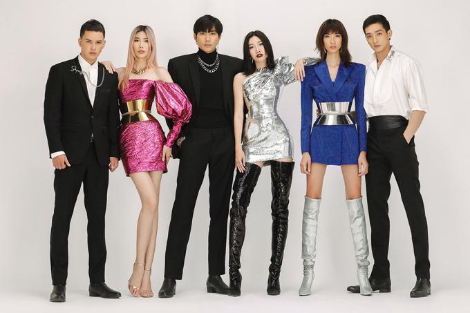 Trong trailer giới show diễn Super Star còn có sự góp mặt của dàn mẫu chuyên nghiệp và các ca sĩGil Lê, Trọng Hiếu, Trang Pháp.