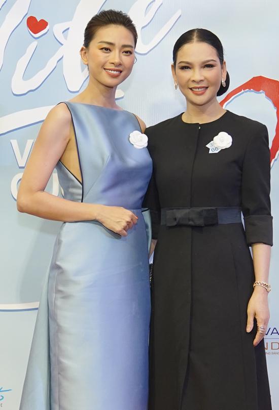 Người đẹp Thủy Hương luôn ủng hộ các dự án từ thiện của Ngô Thanh Vân.