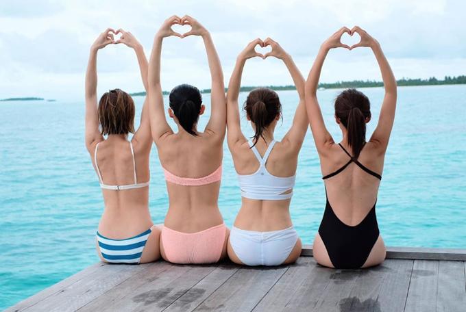 Hội chị em TVB chọn resort cao cấp ở Maldives - 4