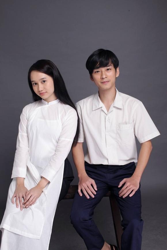 Hai diễn viên chính Trúc Anh và Trần Nghĩa.