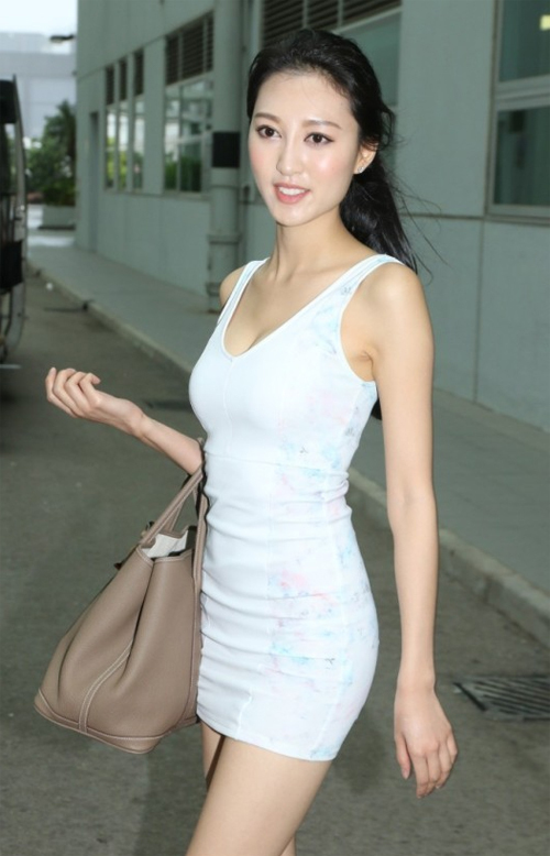 Người đẹp Hà Diễm Quyên.
