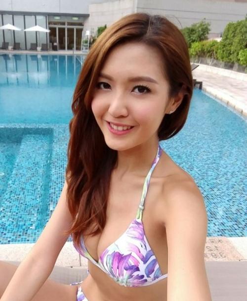 Hoa hậu Trần Đình Hân.