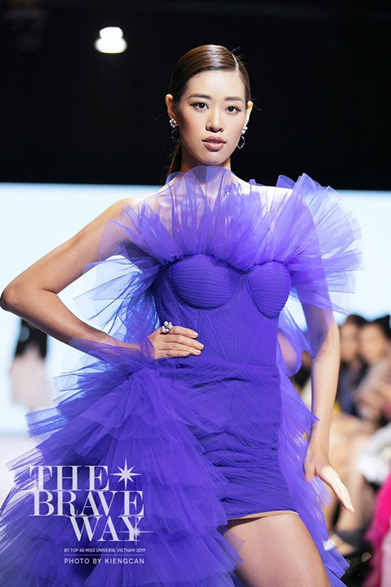 Tại các phần thi trình diễn thời trang ở hoa hậu hoàn vũ năm nay, Khánh Vân luôn nhận được sự đánh gía cao từ các nhà nhà thiết kế và ban giám khảo.