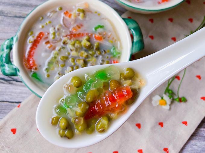 Chè đậu xanh cốt dừa - 1