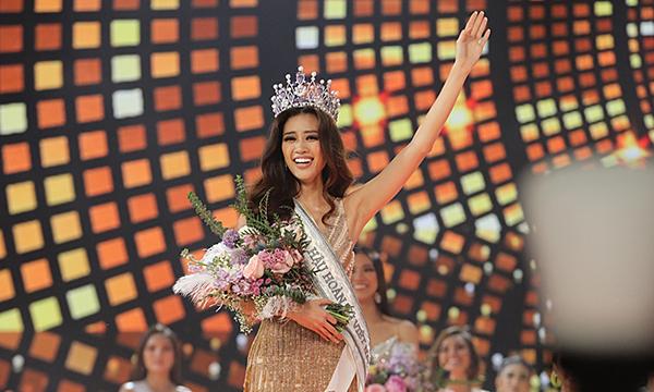Những khoảnh khắc đẹp trong chung kết Hoa hậu Hoàn vũ VN 2019