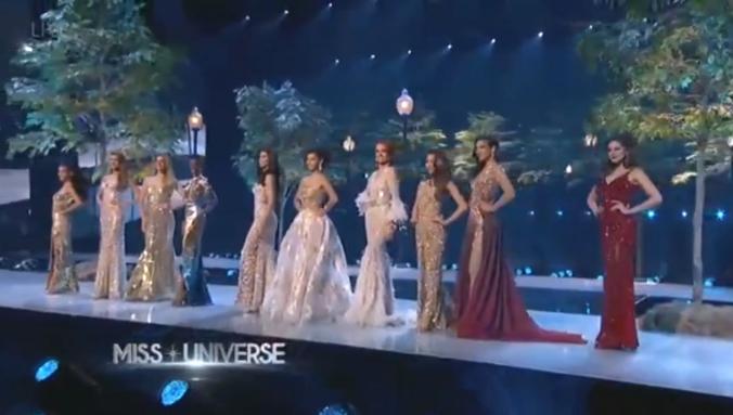Top 10 trình diễn trang phục dạ hội.