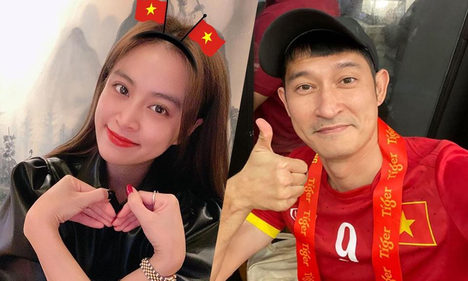 Sao Việt cổ vũ U22 trước trận chung kết - kết quả xổ số đồng tháp