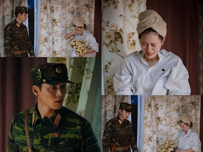 Một cảnh Son Ye Jin khóc vì sợ hãi trong tập 2.