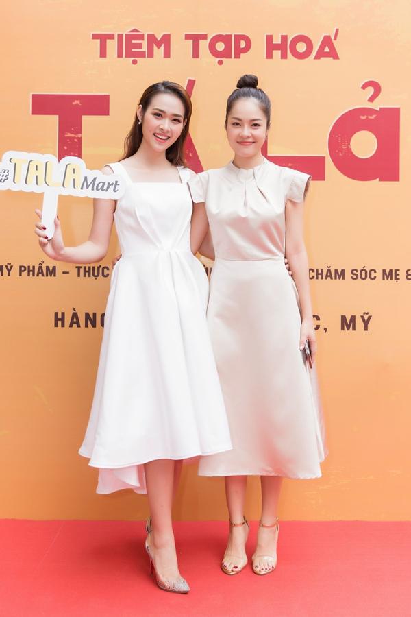 Dương Cẩm Lynh chúc mừng bà chủ Diệp Bảo Ngọc với vai trò mới.