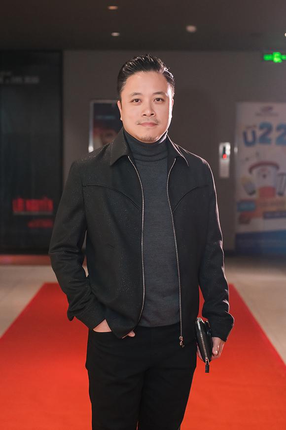 Đạo diễn Victor Vũ ở buổi ra mắt phim Mắt biếc tại Hà Nội.