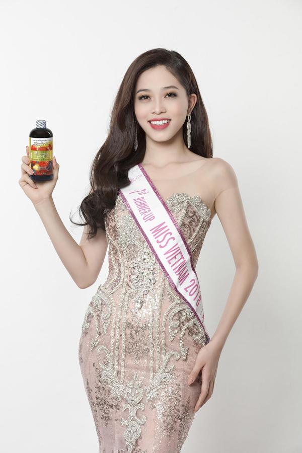 Cleanse Wonderđồng hành cùngPhương Nga trên chặng đường chinh phục vương miện Á hậu Hoa hậu Việt Nam 2018.
