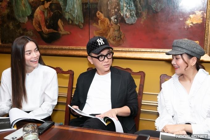 Ngoài các hạng mục do mình đảm nhận chính, ba nghệ sĩ còn đưa ra ý kiến cho các hạng mục giải thưởng khác.