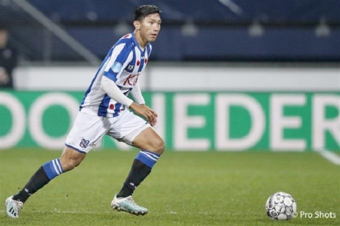 Phóng viên Hà Lan: 'Văn Hậu sẽ rời Heerenveen mùa tới'