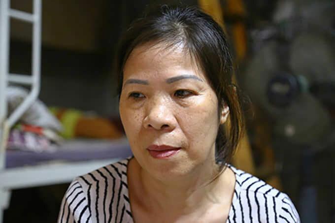 Bà Nguyễn Bích Quy tại nhà riêng vào trưa 27/8. Ảnh: Phạm Dự