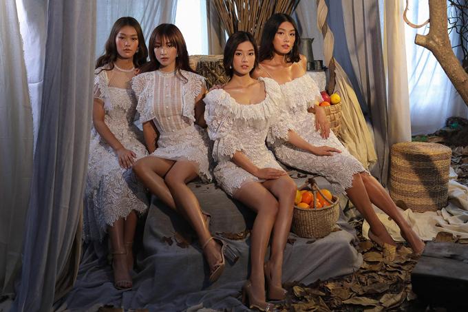 Tay váy phồng vốn là xu hướng làm mưa làm gió của thập niên 1960 cũng quay trở lại, trở thành hot trend thường xuyên xuất hiện ở các sàn diễn thời trang cũng như lựa chọn của đa số cô dâu hiện đại. Kiểu tay phồng mang hơi thở cổ điển giúp người diện cảm thấy thoải mái, làm tăng vẻ nữ tính cho trang phục.