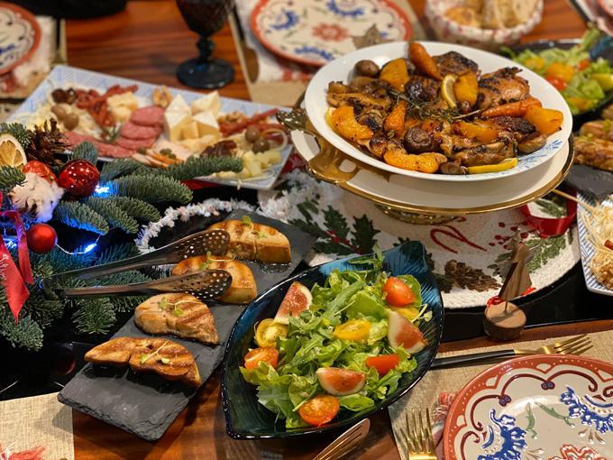 Các bữa ăn Tây chuẩn nhà hàng 5 sao của mẹ doanh nhân - page 3 - 5