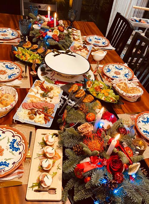 Các bữa ăn Tây chuẩn nhà hàng 5 sao của mẹ doanh nhân - page 3 - 6