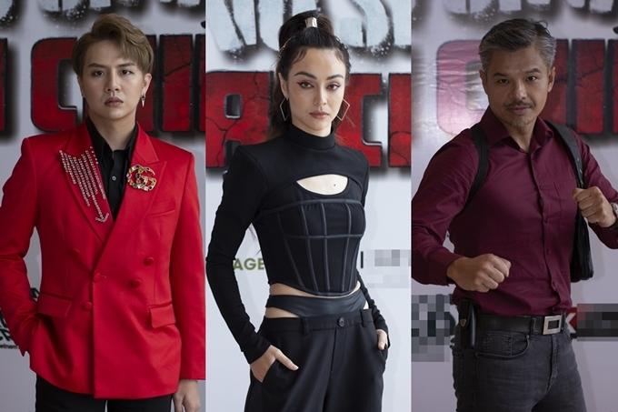 Từ trái sang: Duy Khánh, MLee, Lâm Vissay.
