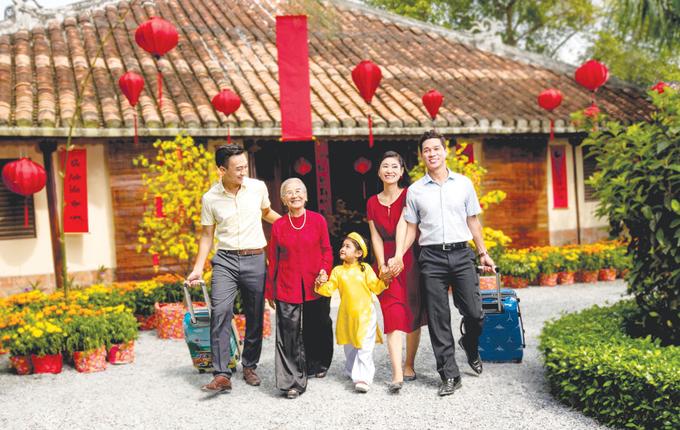 Nếu cả gia đình cùng đi du lịch trong dịp Tết, bạn nên lựa chọn thời gian thích hợp để mọi thành viên đều có thể thoải mái bên nhau trong thời gian dài nhất.