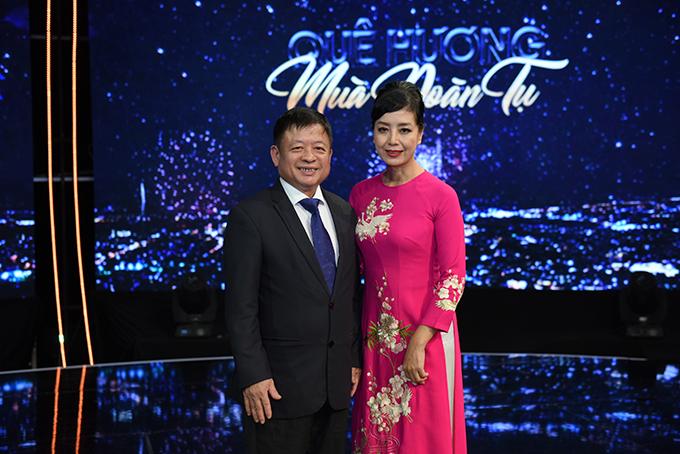 Vợ chồng nhạc sĩ Đỗ Hồng Quân - diễn viên Chiều Xuân.