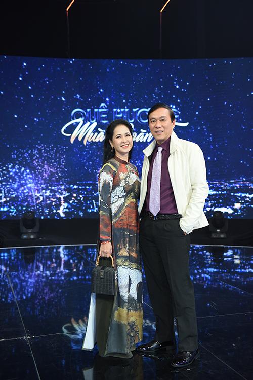 Vợ chồng NSND Lan Hương - Đỗ Kỷ.