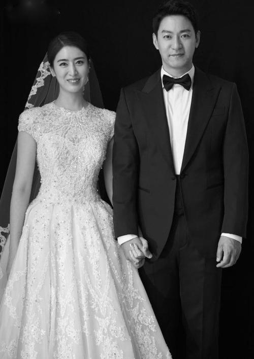 Joo Jin Mo và vợ.