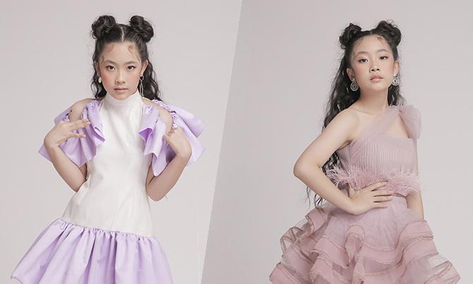 NTK Thanh Huỳnh gợi ý trang phục xuân cho bé gái