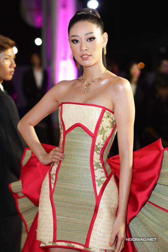 Sau đăng quang Hoa hậu Hoàn vũ Việt Nam 2019, Khánh Vân trở thành khách mời nhiều sự kiện lớn của giải trí.
