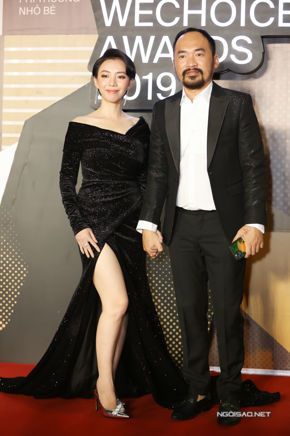 Vợ chồng Tiến Luật - Thu Trang.