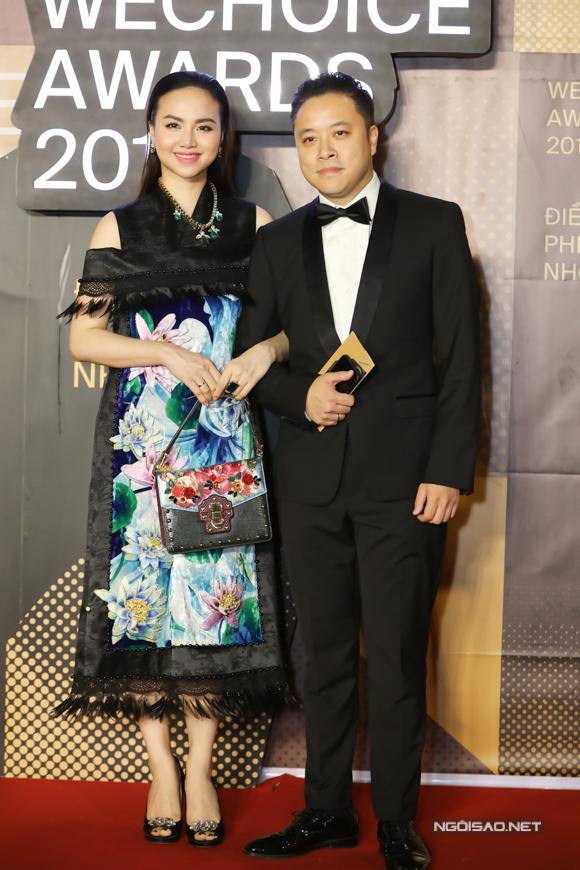Vợ chồng đạo diễn Victor Vũ - Đinh Ngọc Diệp.