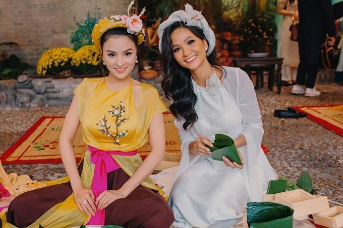Vũ Thu Phương và HHen Niê thân thiết sau cuộc thi Hoa hậu Hoàn vũ Việt Nam 2019. Khi đó, cựu siêu mẫu đảm nhận vai trò giám khảo, còn HHen Niê đồng hành trong một số tập chương trình truyền hình thực tế.