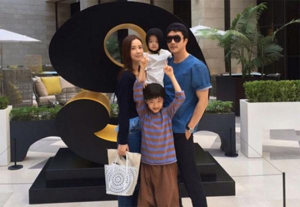 Gia đình Kwon Sang Woo.