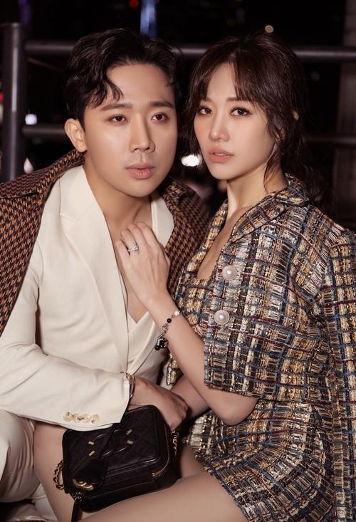 Hari Won - Trấn Thành ngọt ngào trong bộ ảnh mới - 6