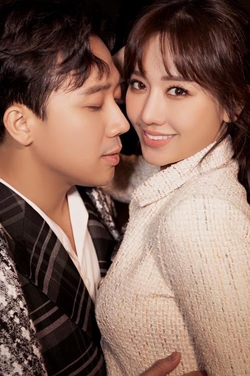 Hari Won - Trấn Thành ngọt ngào trong bộ ảnh mới - 1